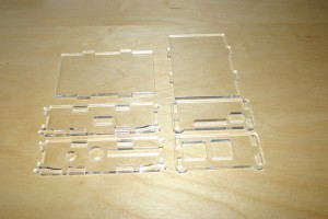 Raspberry Pi casing parts