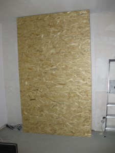 OSB board layer