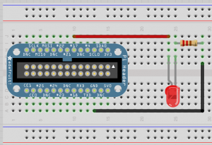 Blink LED Breadboard