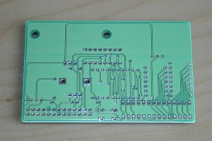 PCB backside